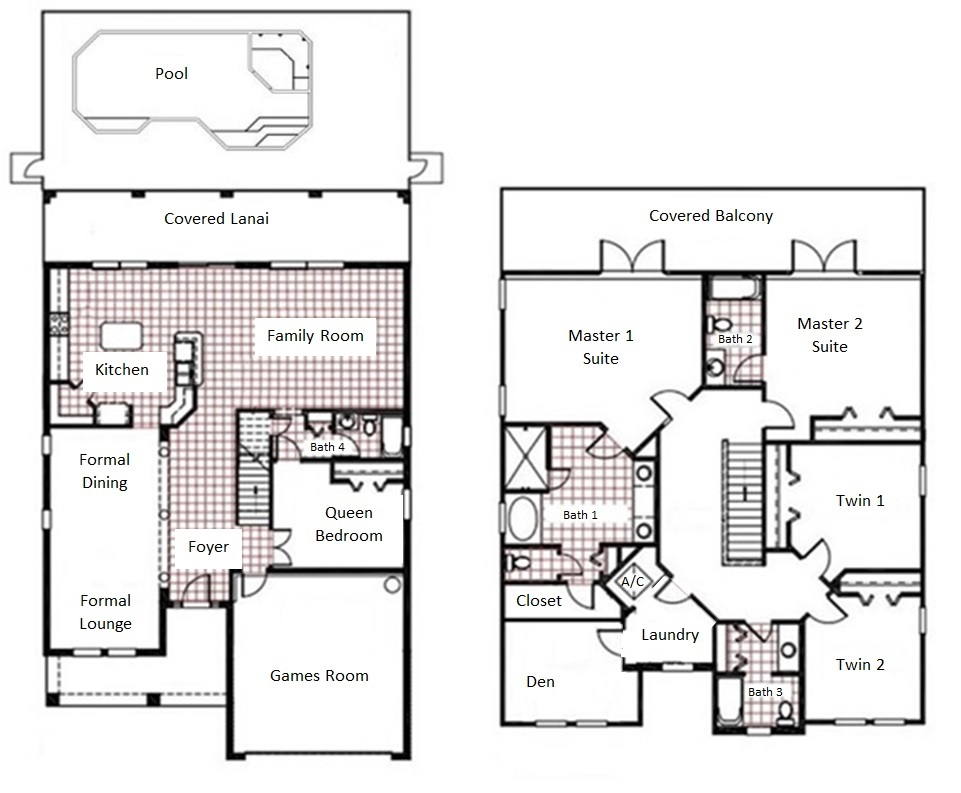 Over 3,200sqft of living space plus lanai & balcony