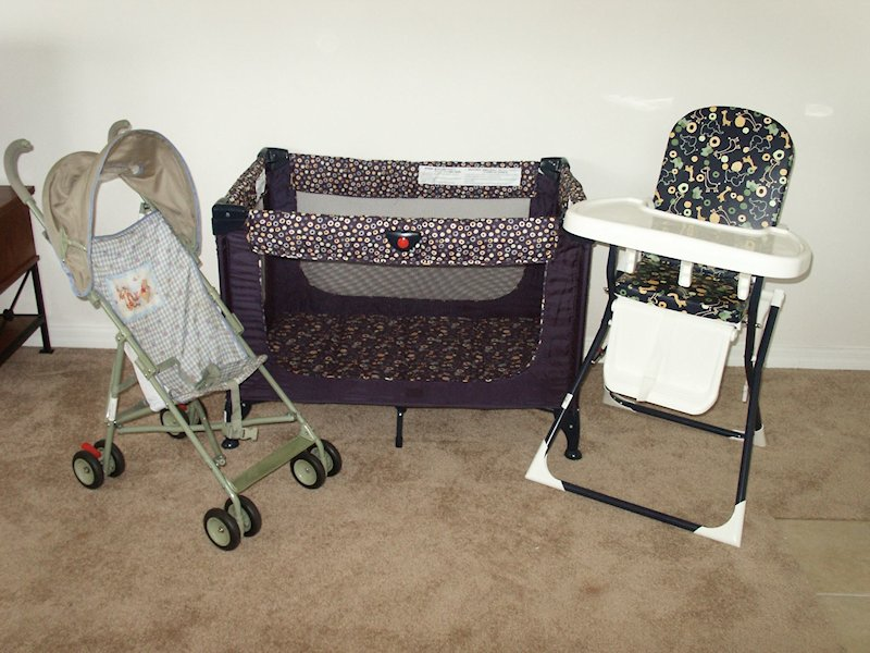 Nursery Items for our younger guests