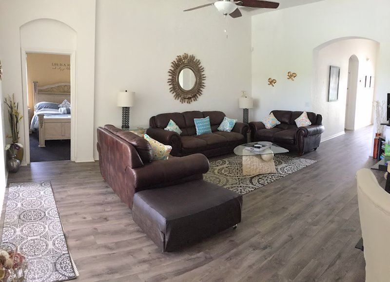 Large Comfortable Living area