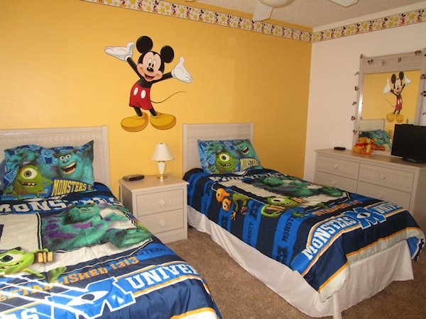 Monsters Inc.  Bedroom