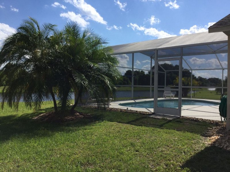 Secluded south facing lakeside location