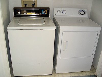 Industrial size washer and dryer
