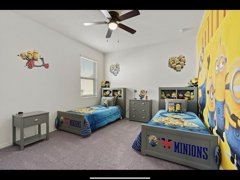 Downstairs Twin Minion Bedroom