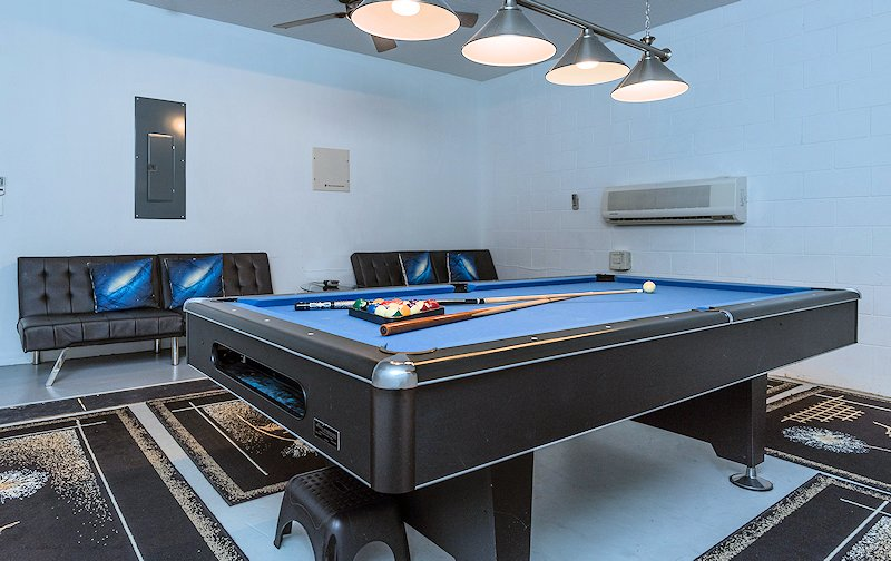 Game room - 8 ft professional billiard table